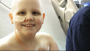 Louisville boy battling cancer asks for cards for his 10th birthday