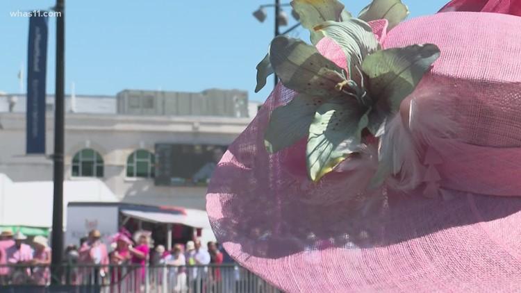 Thousands enjoy Oaks Day at Churchill Downs