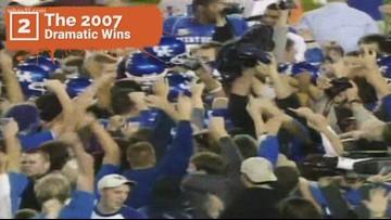 Top 10 Kentucky football moments since 1990