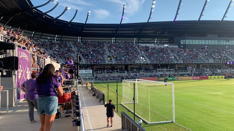 Louisville City FC gets big win on grand opening day in front of packed house