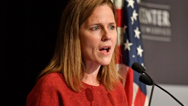 Barrett concerned about public perception of Supreme Court during Louisville visit
