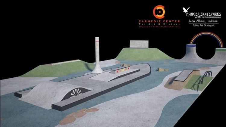 Hunger Skate Park rendering