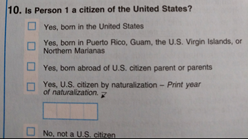 The Supreme Court nixed the citizenship question on the Census. This woman just got one in her mailbox