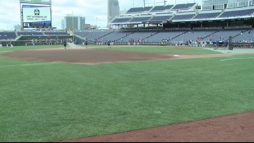Cards at the College World Series