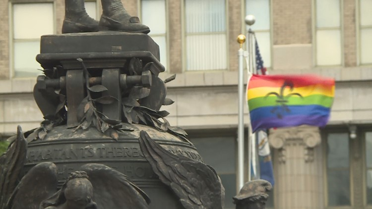 Pride Flag Metro Hall