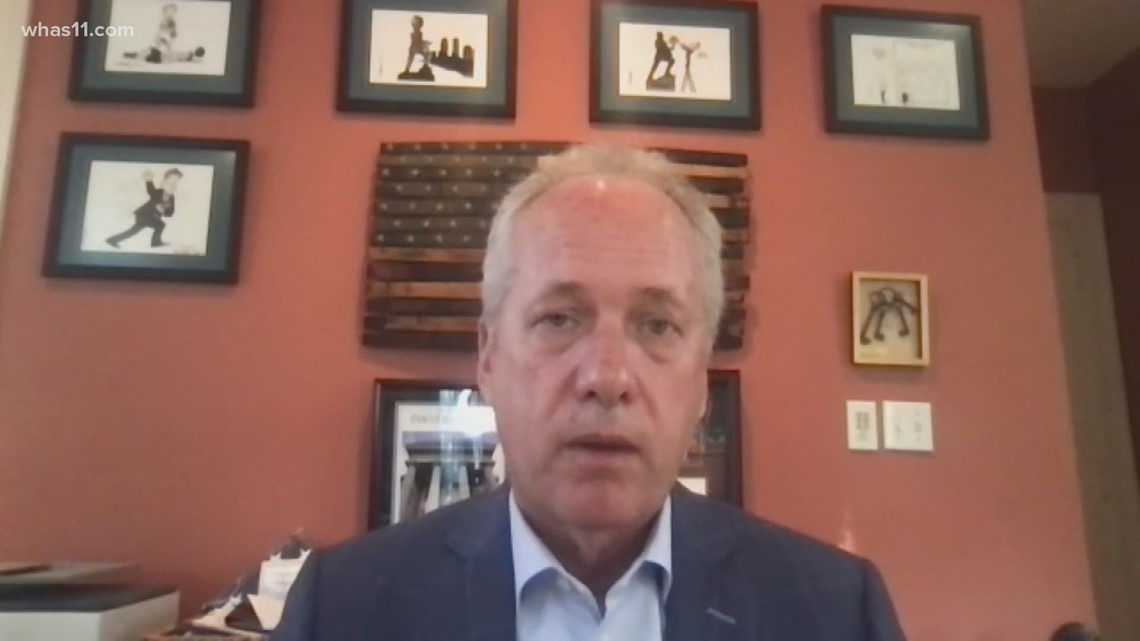 One-on-one with Mayor Fischer: Vaccine efforts, and 1,000 lost to COVID-19 in Louisville
