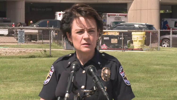 RAW: LMPD officer hospitalized after accidental shooting in property room at police department