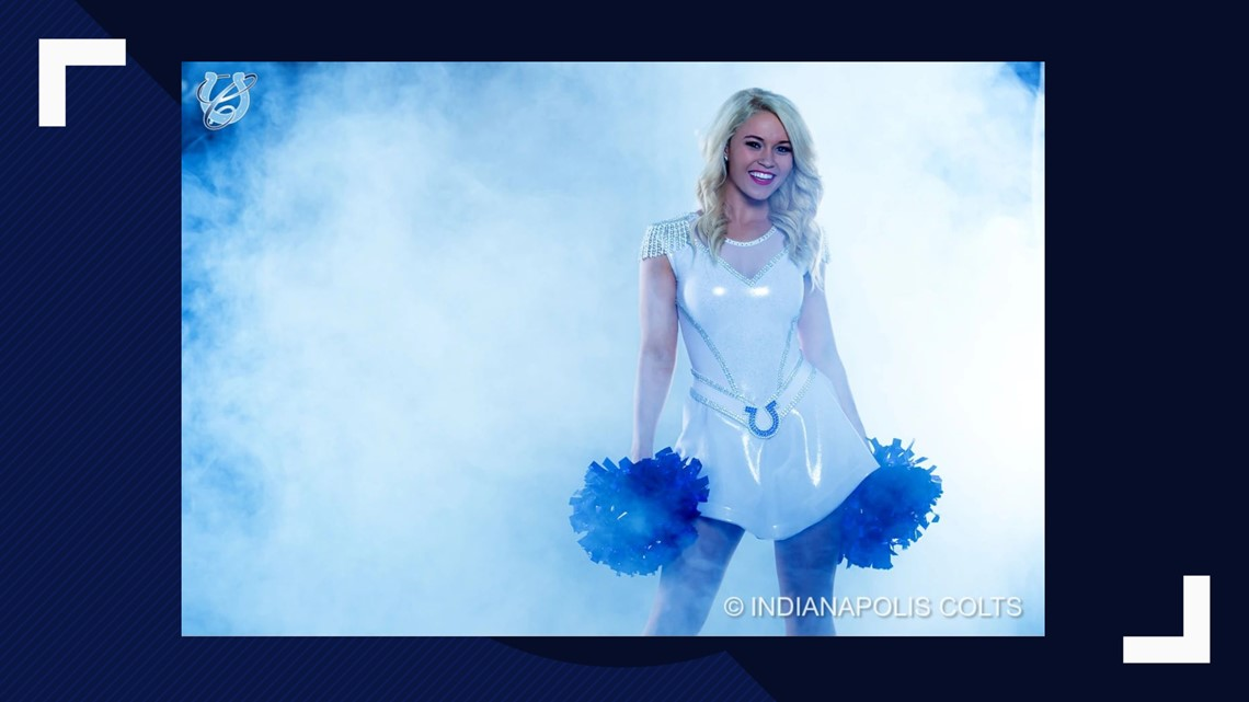73a32c48e Indianapolis Colts cheerleaders unveil new