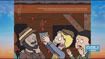 """Kentucky's infamous """"Meat Shower"""" takes center stage in new children's book"""