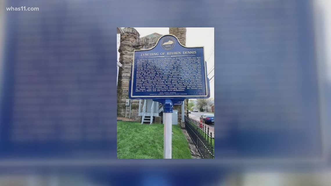 Historical markers memorialize lynching victims in Shelby County