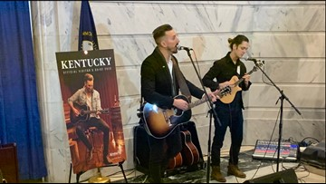 Country singer J.D. Shelburne featured on cover of Kentucky's visitor's guide