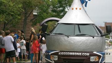 Kiss them goodbye: Hershey is retiring fleet of Kissmobiles