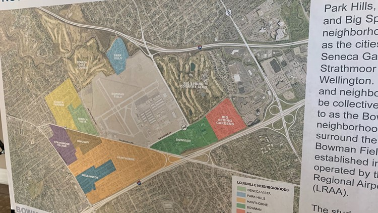 Project Area Bowman Field