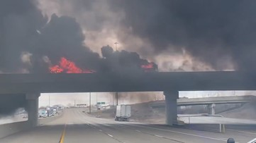 Good Samaritans rescue driver after tanker explosion in Indianapolis