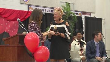 Stopher Elementary teacher wins ExCel Award