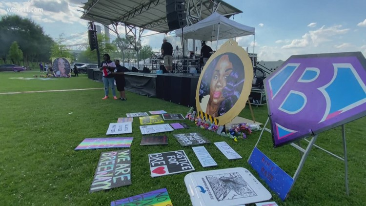 'Praise in the Park' event honors Breonna Taylor on her birthday