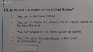 Why do some census forms have a question on citizenship?