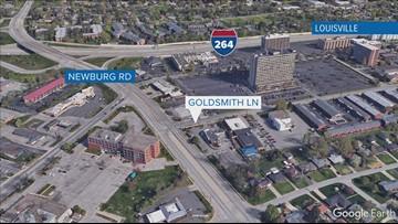 Map of Goldsmith Lane shooting