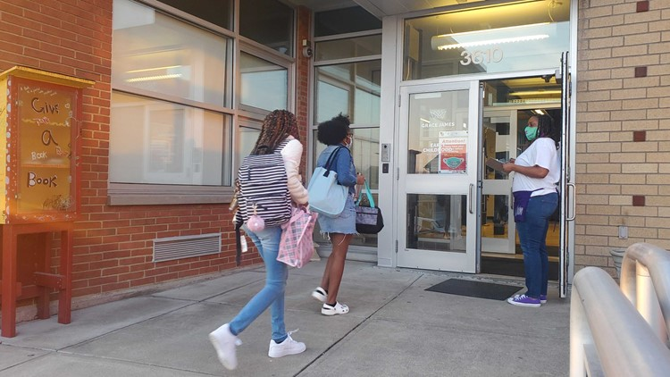 JCPS hosts free health clinics for COVID vaccines, physicals ahead of school year
