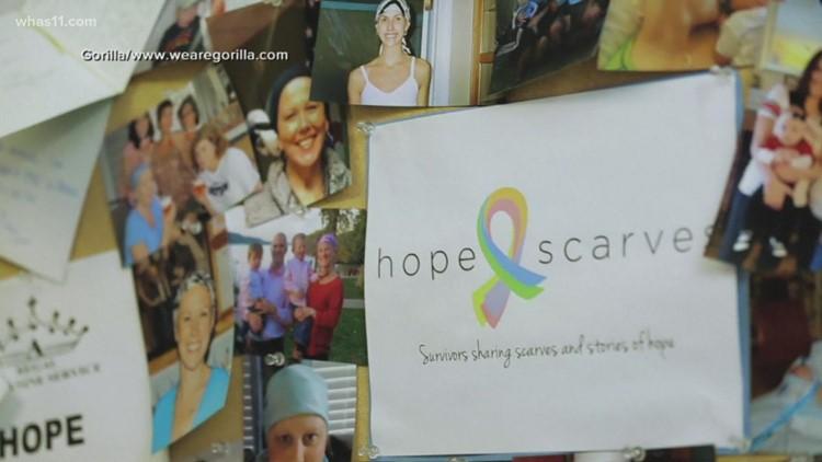 'You can do this': Louisville breast cancer survivor creates global sisterhood through scarves