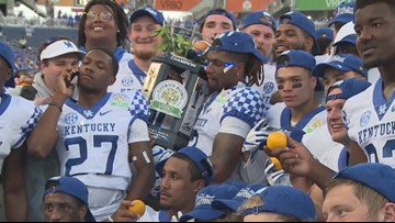 Kentucky Football hungry for more