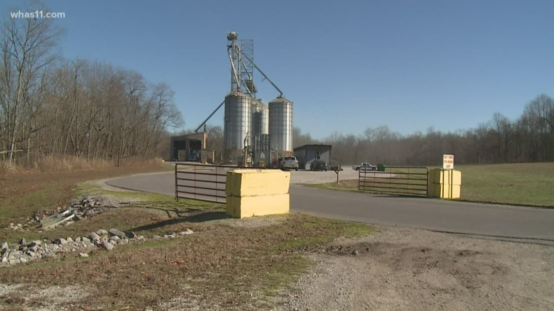 Farmers upset about the Consolidated Grain and Barge elevator shutting down