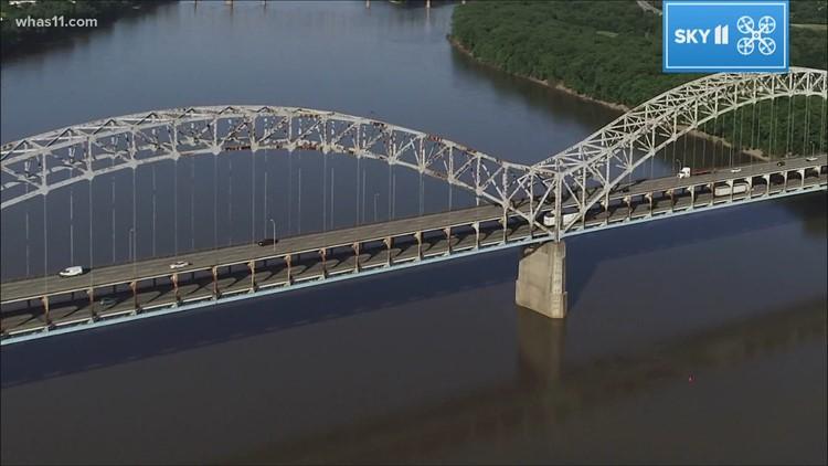 Renovations to Sherman Minton Bridge begin Tuesday