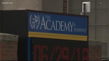 Gun, ammo found in Academy at Shawnee