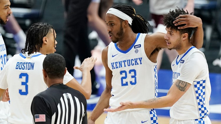 UK's NCAA hopes end after being bounced from SEC tourney