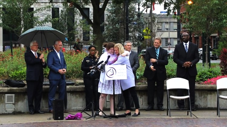 Domestic violence survivor turns her story into advocacy