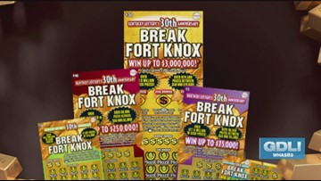 Break Fort Knox with Kentucky Lottery's new family of games