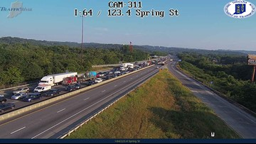 Traffic on Sherman Minton Bridge cleared after accident