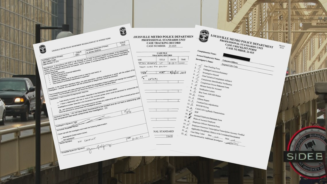 LMPD report: Alleged controversial traffic stop didn't happen