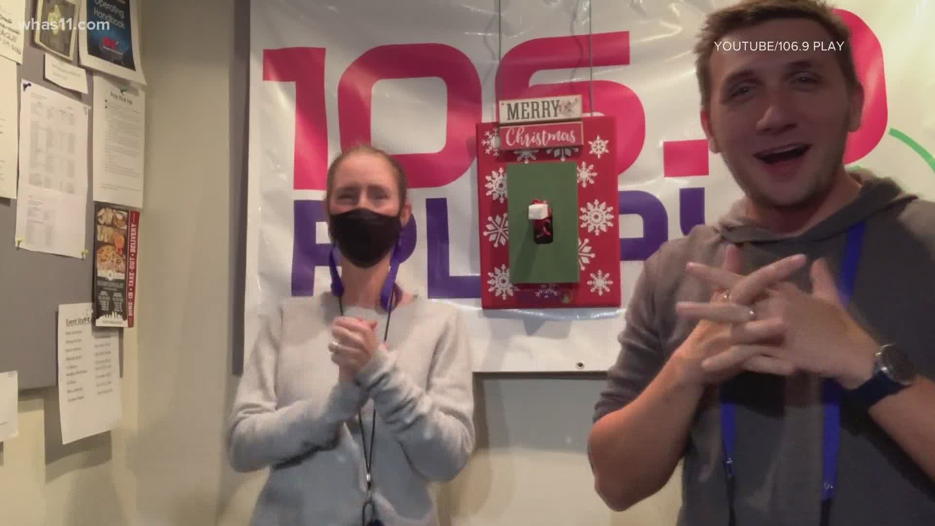 106.9 launches all day Christmas music | whas11.com