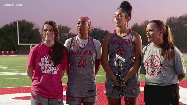 HS GameTime   Jeffersonville Girls Basketball Team