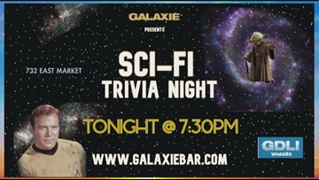 Put your know-how to the test at Galaxie Sci-Fi Trivia Night