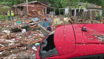 Explosion kills one, damages several homes