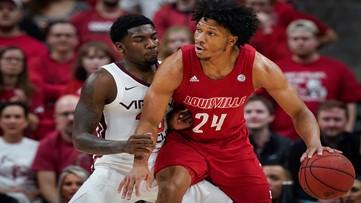 No. 11 Louisville Pulls Away From Virginia Tech 68-52
