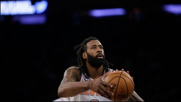 Knicks C Jordan out with an ankle injury