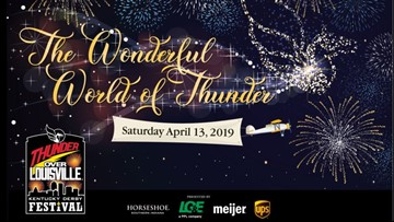 Kentucky Derby Festival unveils 2019 Thunder Over Louisville theme