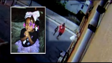 Surveillance video shows missing 4-year-old following unknown man moments before she was found