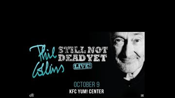 Phil Collins in concert this Wednesday