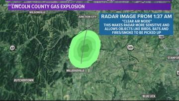 Kentucky gas explosion was so powerful it registered on radar