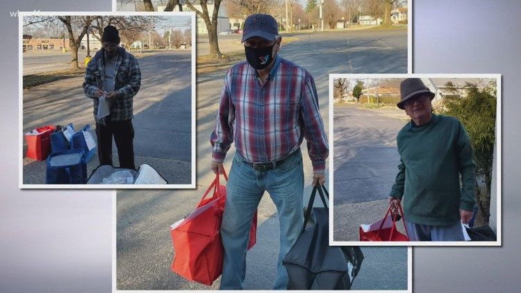 Volunteers bring warm meals, conversation to isolated seniors