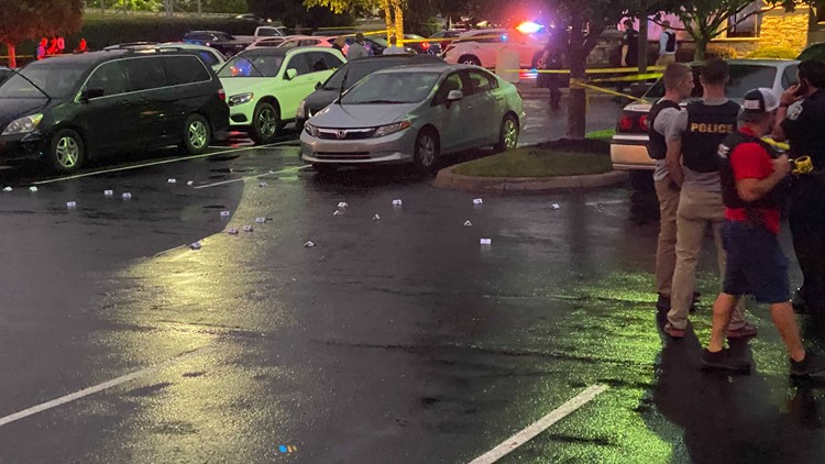 Police: Man and woman shot as they exited restaurant near Oxmoor Center