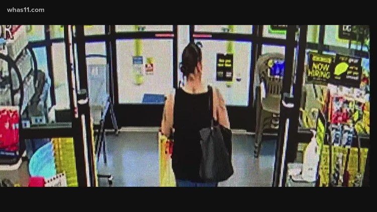 Meade County officials hope tips can help identify Dollar General shoplifter