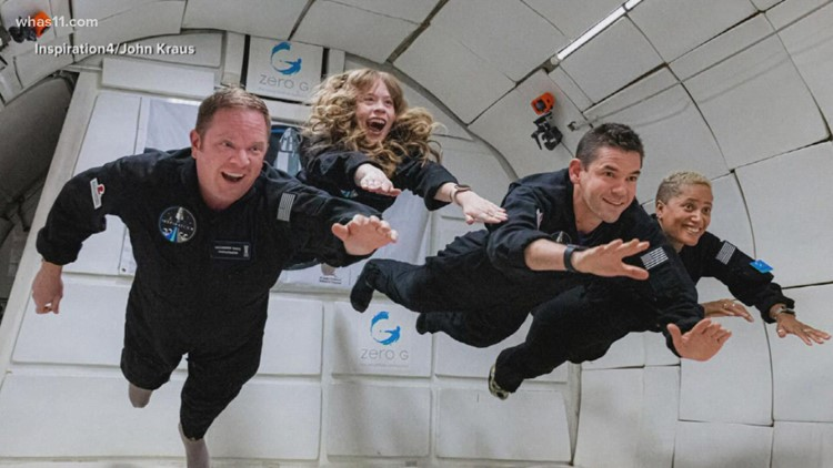 SpaceX's all-civilian Inspiration4 crew blasts off for 3-day stay, trip benefits St. Jude's