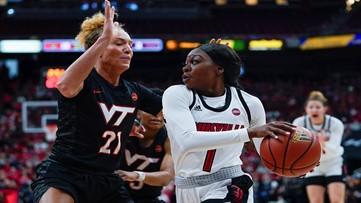 Seniors lead No. 5 Louisville in 70-53 win over Va. Tech