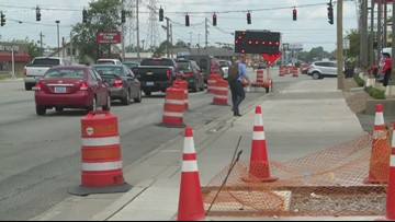 Dixie Highway urging drivers not to park on new sidewalks
