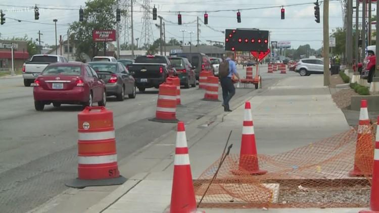Drivers taking advantage of new sidewalks